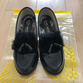 ハルタ(HARUTA)のファー付きローファー(ローファー/革靴)
