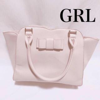 グレイル(GRL)のGRL スカラップリボンハンドバッグ(ハンドバッグ)