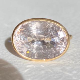 大粒モルガナイト k14 ゴールド リング 検索 マリーエレーヌ ジェムパレス