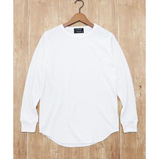 Confarm*ネップワッフルロングTシャツ