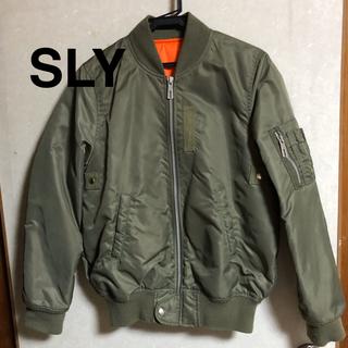 スライ(SLY)のSLY original  スライ MA-1  ジャケット(ミリタリージャケット)