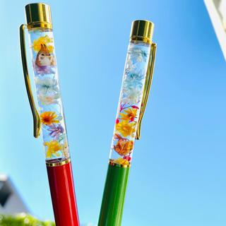 【替芯付き】動物シリーズ☆ハーバリウムボールペン    ハーバリウム ボールペン(その他)