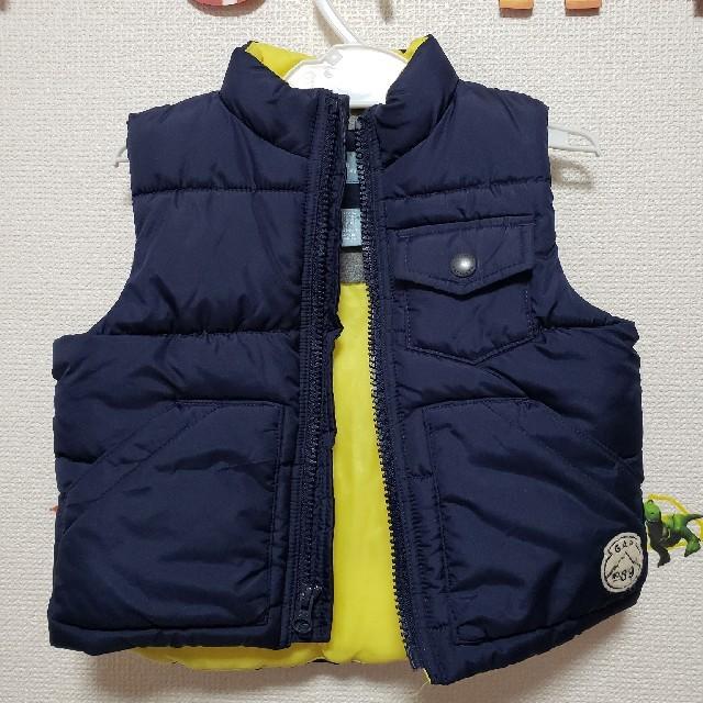 GAP(ギャップ)のダウンベスト キッズ/ベビー/マタニティのキッズ服 男の子用(90cm~)(ジャケット/上着)の商品写真