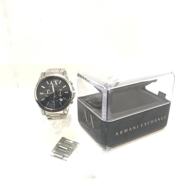 ARMANI EXCHANGE - 正規品 アルマーニAX エクスチェンジ アウターバンクス クロノグラフ 腕時計の通販