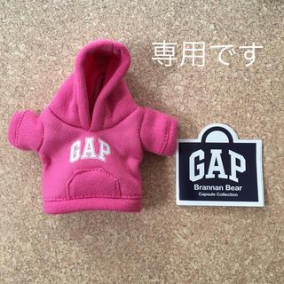 ギャップ(GAP)のGAP ガチャ パーカー ピンク(キャラクターグッズ)
