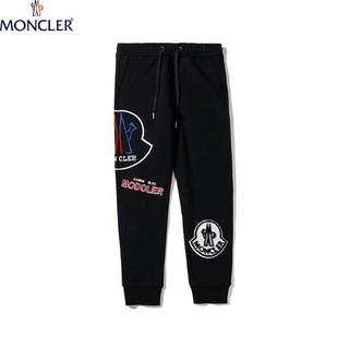 MONCLER - モンクレール 刺繍 メンズロングパンツ