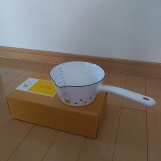 フジホーロー(富士ホーロー)の富士ホーロー ミッフィーのミルクパン(鍋/フライパン)