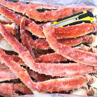 極太タラバガニ足 2kg‼️訳あり‼️(魚介)