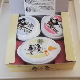 Disney - ミッキー&ミニー電子レンジ容器セット