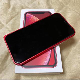Apple - iPhone XR SIMフリー 64GB ガラスコート済