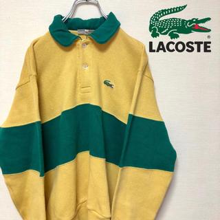 ラコステ(LACOSTE)のCHEMISE LACOSTE スウェット トレーナー ラガーシャツ(スウェット)