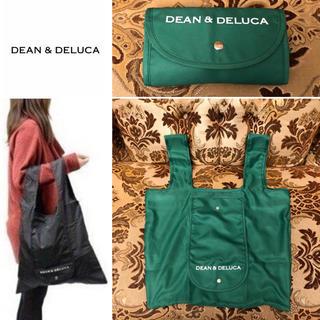 DEAN & DELUCA - 未使用 DEAN&DELUCA 折りたたみ収納出来るエコバッグ グリーン