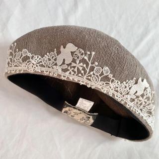 CA4LA - CA4LA 刺繍ベレー帽