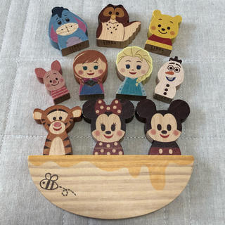 Disney - KIDEA ディズニー ミッキーミニー&プーさん&アナ雪