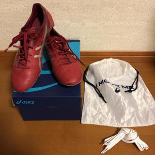 アシックス(asics)の☆送料込☆ サッカー スパイクasics DS LIGHT 26.5cm、おまけ(シューズ)