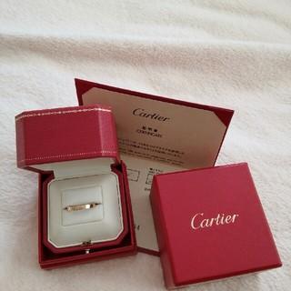 カルティエ(Cartier)のカルティエ Cartier ラニエール K18 イエローゴールド 証明書付(リング(指輪))