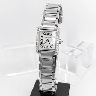 Cartier - 【保証書付/仕上済】カルティエ フランセーズ SM ダイヤ シルバー 腕時計