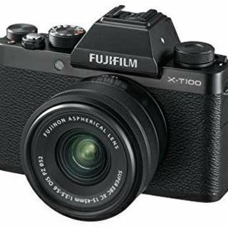 富士フイルム - 新品未使用品 富士フィルム X-T100レンズキット ブラック