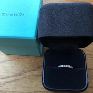 Tiffany & Co. - ティファニー ダイヤモンド リング エタニティ プラチナ