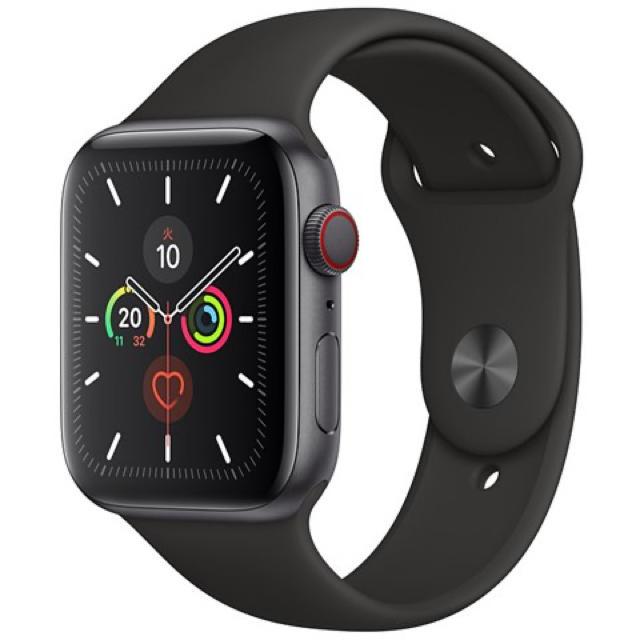 Apple Watch - 新品未使用 Apple watch series5 44mm セルラーモデルの通販