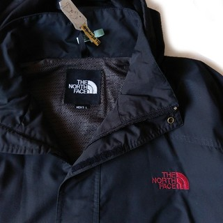 THE NORTH FACE - THE NORTH FACE マウンテンパーカー ナイロンジャケット 黒 赤
