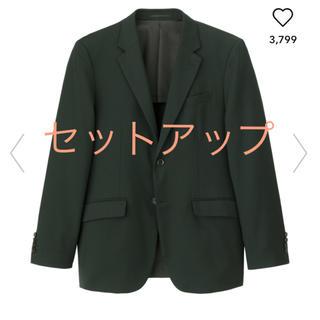 ジーユー(GU)のジーユー スーツ セットアップ 新品 Mサイズ(セットアップ)