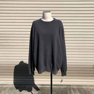 vintage グレー セーター ニット(ニット/セーター)