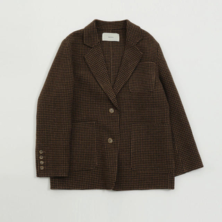 TODAYFUL - todayful  Wool Check Jacket 36 美品