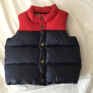 babyGAP - baby GAP 袖なしダウンコート 80センチ