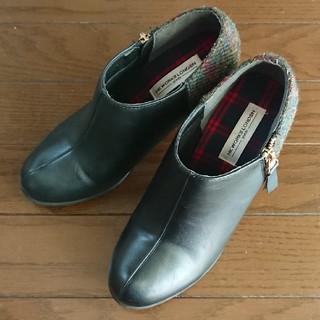 シマムラ(しまむら)のしまむら×ハリスツイードコラボ ブーツ(ブーツ)