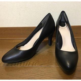 ランダ(RANDA)の☆専用☆ランダ COTTON STEPS  走れる美脚 パンプス 黒 21cm(ハイヒール/パンプス)
