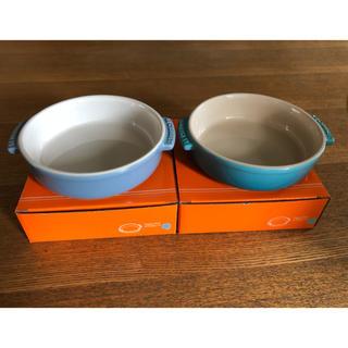 ルクルーゼ(LE CREUSET)の未使用 ル・クルーゼ tapas dish 2枚セット(食器)