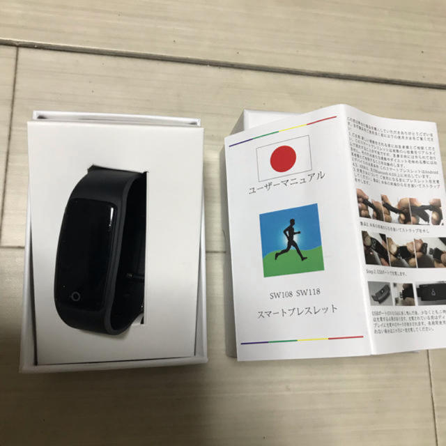 スマートブレスレット タッチ操作スマートウォッチ 歩数計 腕時計 多機能の通販