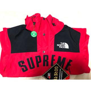 Supreme - 【未使用タグ付き】Sup×TNF マウンテンパーカー Mサイズ
