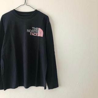 THE NORTH FACE - ノースフェイス  国旗 長袖 Tシャツ
