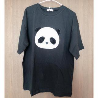 ウィゴー(WEGO)のパンダ🐼ビッグTシャツ(Tシャツ(半袖/袖なし))