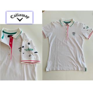 キャロウェイゴルフ(Callaway Golf)のキャロウェイ ベーシックポロシャツ(S)(ウエア)