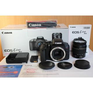 Canon - メーカー保証付!Kiss X9i 今年10月購入!ほぼ新品/USMレンズ