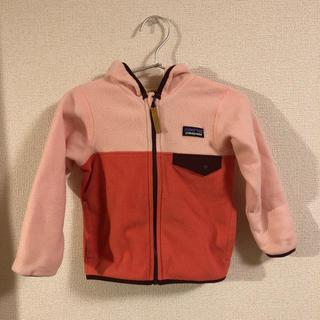 patagonia - patagonia パタゴニア ベビーマイクロDスナップTジャケット サイズ2T
