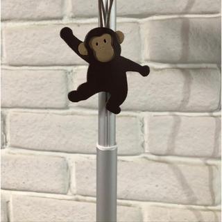 サマンサモスモス(SM2)のIBIZA 猿のバッグチャーム 本革(チャーム)