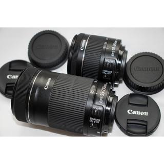Canon - 今年10月購入品!ほぼ新品!Canon 純正標準、望遠 最新レンズセット