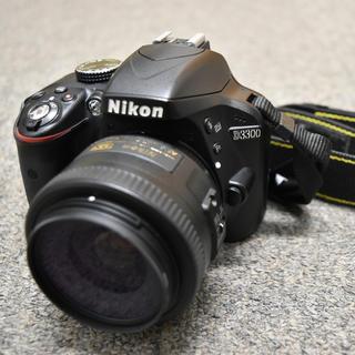 Nikon - ニコン Nikon D3300 単焦点35mm+VR Zoom 55-200mm