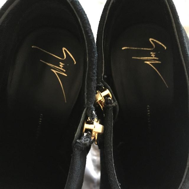 GIUZEPPE ZANOTTI(ジュゼッペザノッティ)のジュゼッペザノッティ 35 ショートブーツ レディースの靴/シューズ(ブーツ)の商品写真
