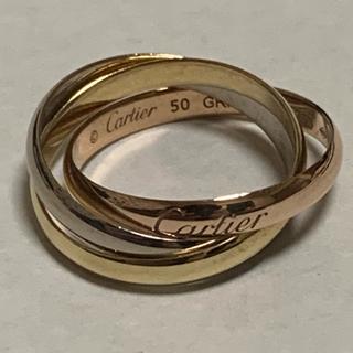 Cartier - カルティエ トリニティリング 10.5号 K18