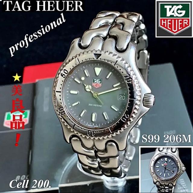 TAG Heuer - TAG HEUER/タグ・ホイヤープロフェッショナルセルシリーズ メンズクオーツの通販