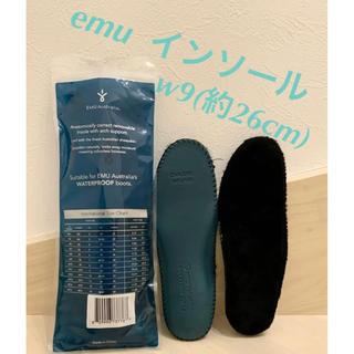 エミュー(EMU)の【新品未使用】emu  インソール シープスキンインソール(中敷)(その他)