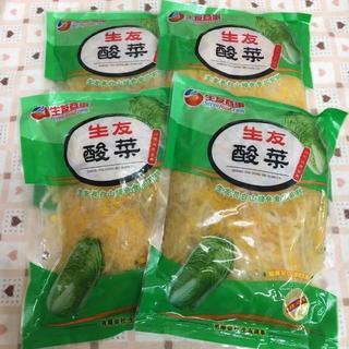 10袋 白菜の酢漬 東北長白山名物(野菜)