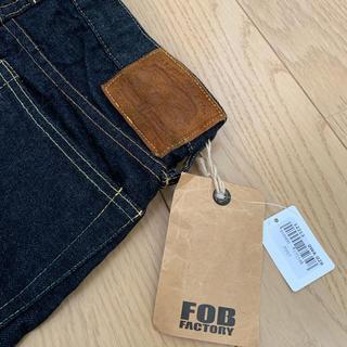 FOB FACTORY F097 セルヴィッチジーンズ
