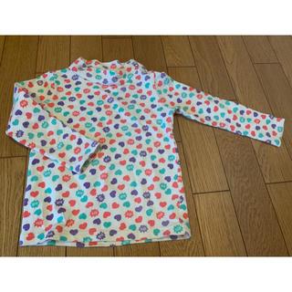 エーアーベー(eaB)のeab エーアーベー ♡ 長袖 Tシャツ ハイネック 100(Tシャツ/カットソー)