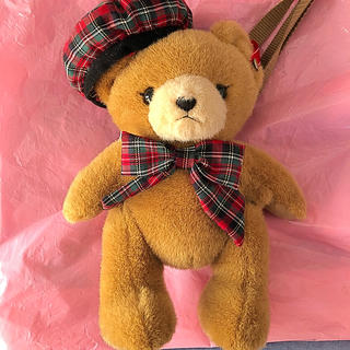 Angelic Pretty - British bearぬいぐるみポーチ
